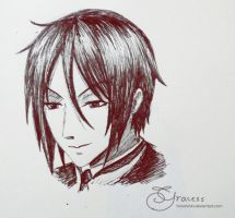 G-pen SebastianMichaelis by Hiroshinki