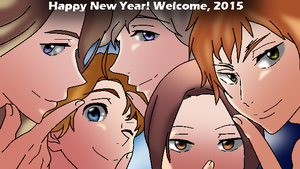 Happy New Year! Welcome, 2015! by StarShineTheAlicorn
