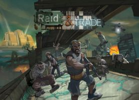 Raid and Trade: Box Art by SC4V3NG3R