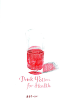 Drink Potion for Health by AmethystSadachbia