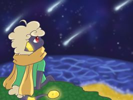 PKMN-Crossing: Viewing the Meteor Shower by Millenium-Lint