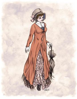 Miss Phoebe Churcham in Colour by Shakoriel