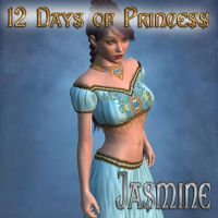 12 Days of Princess -Jasmine by mylochka