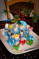 Peanuts Cake Pops by Peabeaux