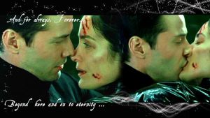 For Always: Neo and Trinity Bg by Marina88