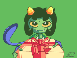 Birthday Nepeta by Squid-Apple