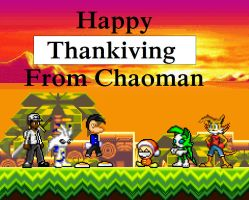 Happy Thanksgiving by chaoman25