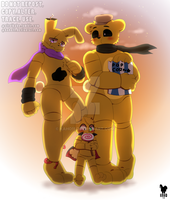 Golden Family by kaho11