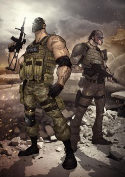 Army of Two: The 40th Day by PatrickBrown