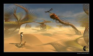 The other day on the desert planet Rana by arteandreas