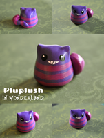 Pluplush Cheshire cat by Superpluplush