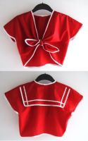 1940's Tie Top - Sailor by rascalkosher