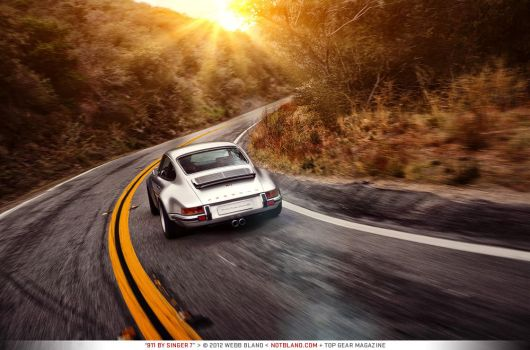 911 by Singer 7 - Top Gear Magazine by notbland