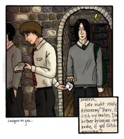 Designs on You - Snape/Lupin by dragonelle
