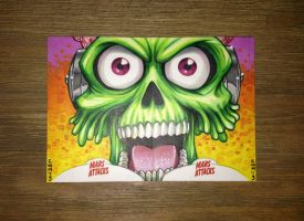Mars Attacks Invasion by C-McCown
