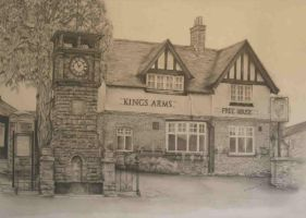 Kings Arms Pub by artitudeuk