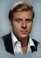 Robert Redford by ChristineGourvest