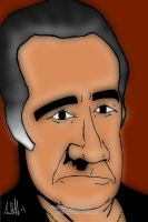 Tony Sirico .... Art Work by arihoff
