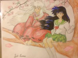 Inuyasha and Kaoru by Draw4fun2