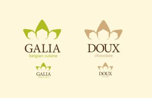 Galia and Doux Logos by pandamel