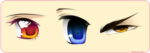 Anime Eyes 2 by lEdogawa