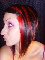 i cut and color my own hair by APorche