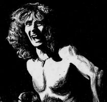Bon Scott by LaceyAndTheLevee