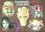 Guardians of the Galaxy by UberPickleMonkey
