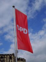 Flag of the SPD by Aquarior