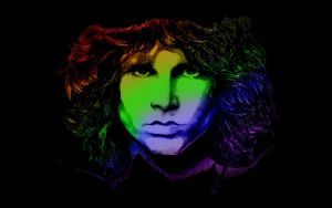 Jim Morrison by Boggiewu