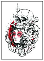 nico tattoo logo 02 by bhbettie
