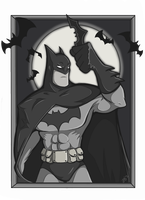 Batman Card by Lucidious89