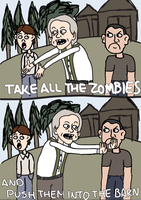 Kill all Zombies by iam-kerri