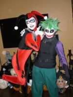 Joker And Harley by AcE-oFkNaVeS