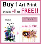 One Art Print for FREE!! by PixieCold