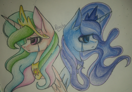 Sun and Moon by DemiM0n
