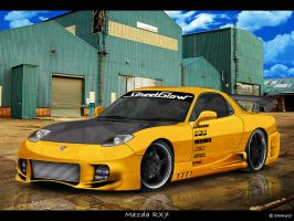 Virtual Tuning - Mazda RX7 by Shaggy87