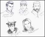 Fable III Character Sketches by lubyelfears