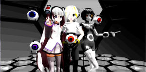 Aperture Science A.I.s by MewMeori