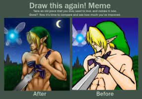 Before and After Meme by ashbunn