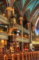 Notre Dame Basilica III by digswolf