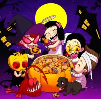 SJ: halloween by Quere