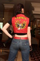 Claire Redfield- Valkyrie by Leonie-Heartilly