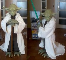 Cosplay Yoda preview by AleDiri