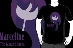 Marceline the Vampire Queen by NomiShirts