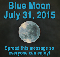 Blue Moon by TigerLover104
