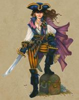 Freeport - Cecile The Freebooter by Everwho