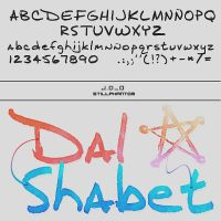 Dalshabet mr bang bang   font by StillPhantom