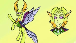 Thorax , the king of Changelings #1 by OwOCrystalCatOwO