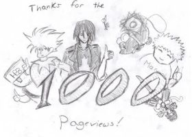Thanks for 1K by Draxen